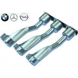 Vasos abiertos para inyectores BMW, Opel y Mercedes y otros, 3 pzs
