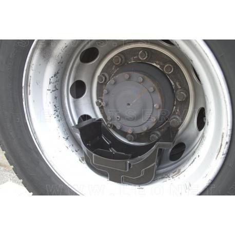 Bandeja recogedora de aceite para los ejes de camión