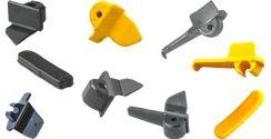 Protecciones de plástico para la uña de acero
